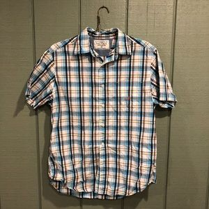 Nautica Plaid Button Down Medium